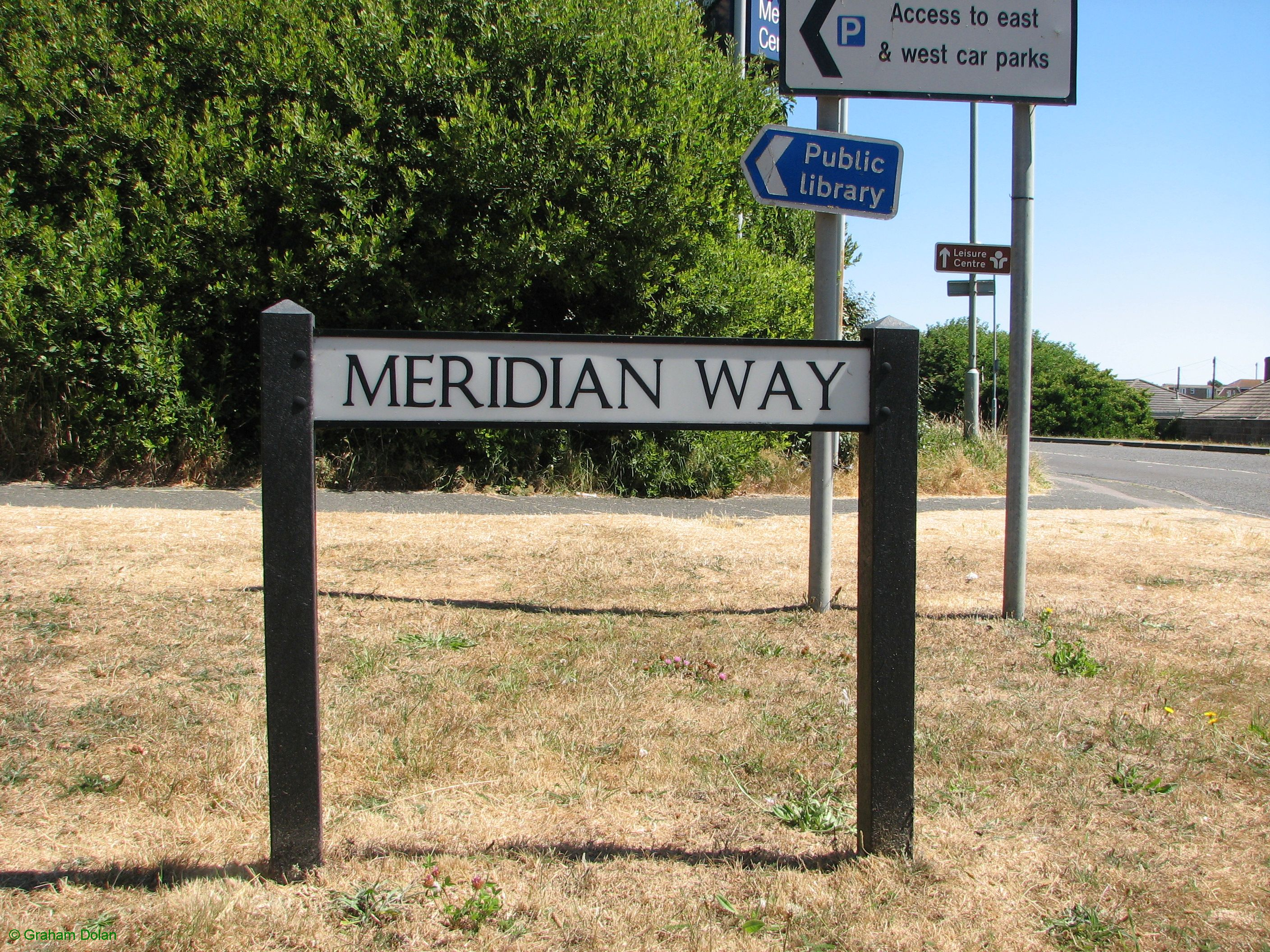 Greenwich Meridian Marker; England; East Sussex; Peacehaven