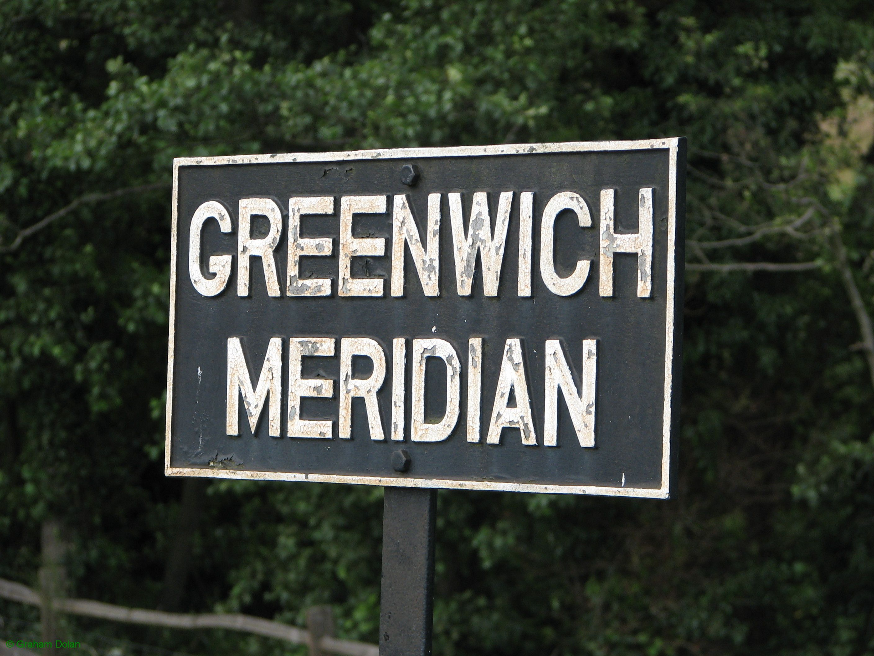 Greenwich Meridian Marker; England; East Sussex; Sheffield Park
