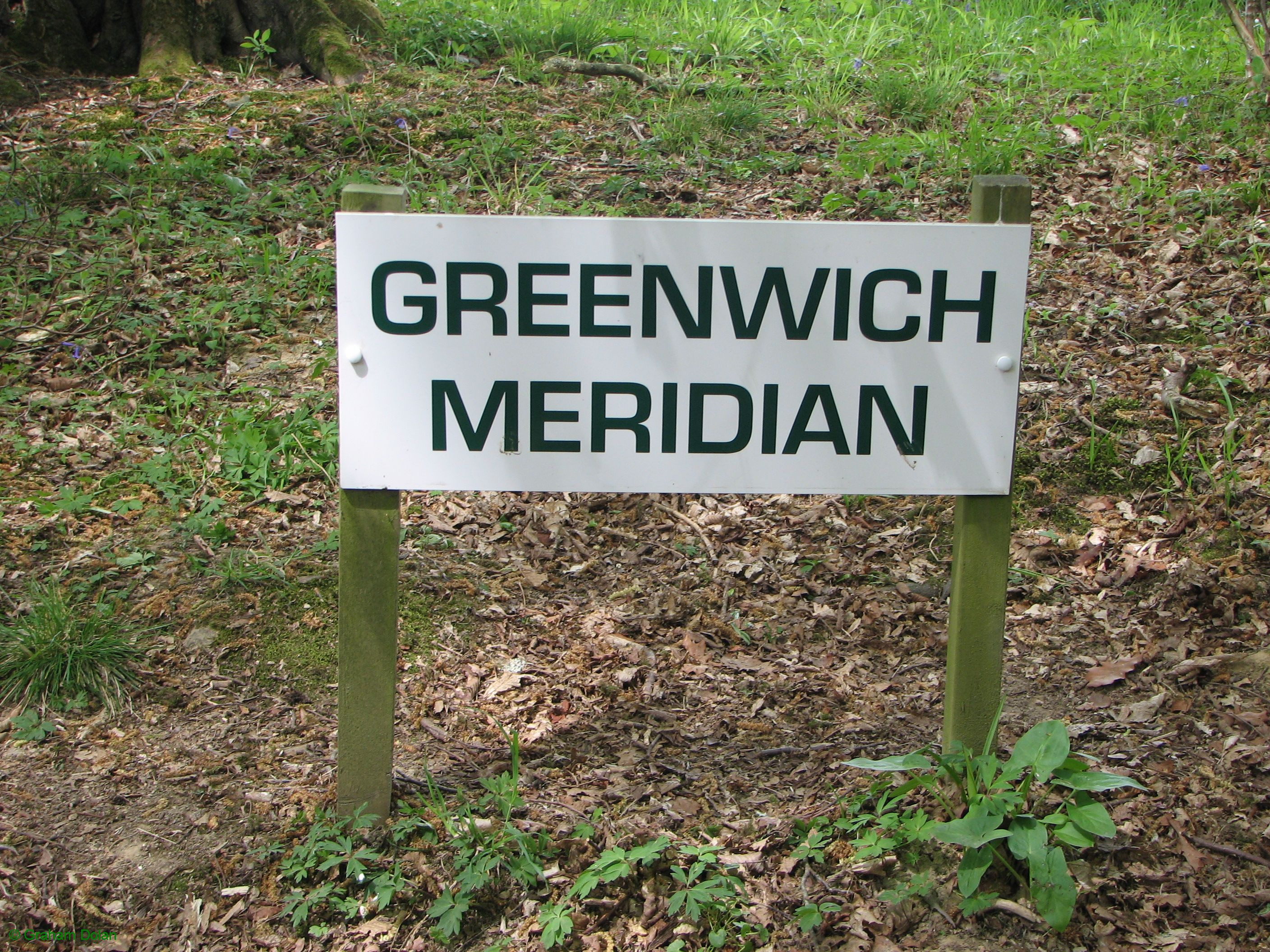 Greenwich Meridian Marker; England; East Sussex; Furner's Green