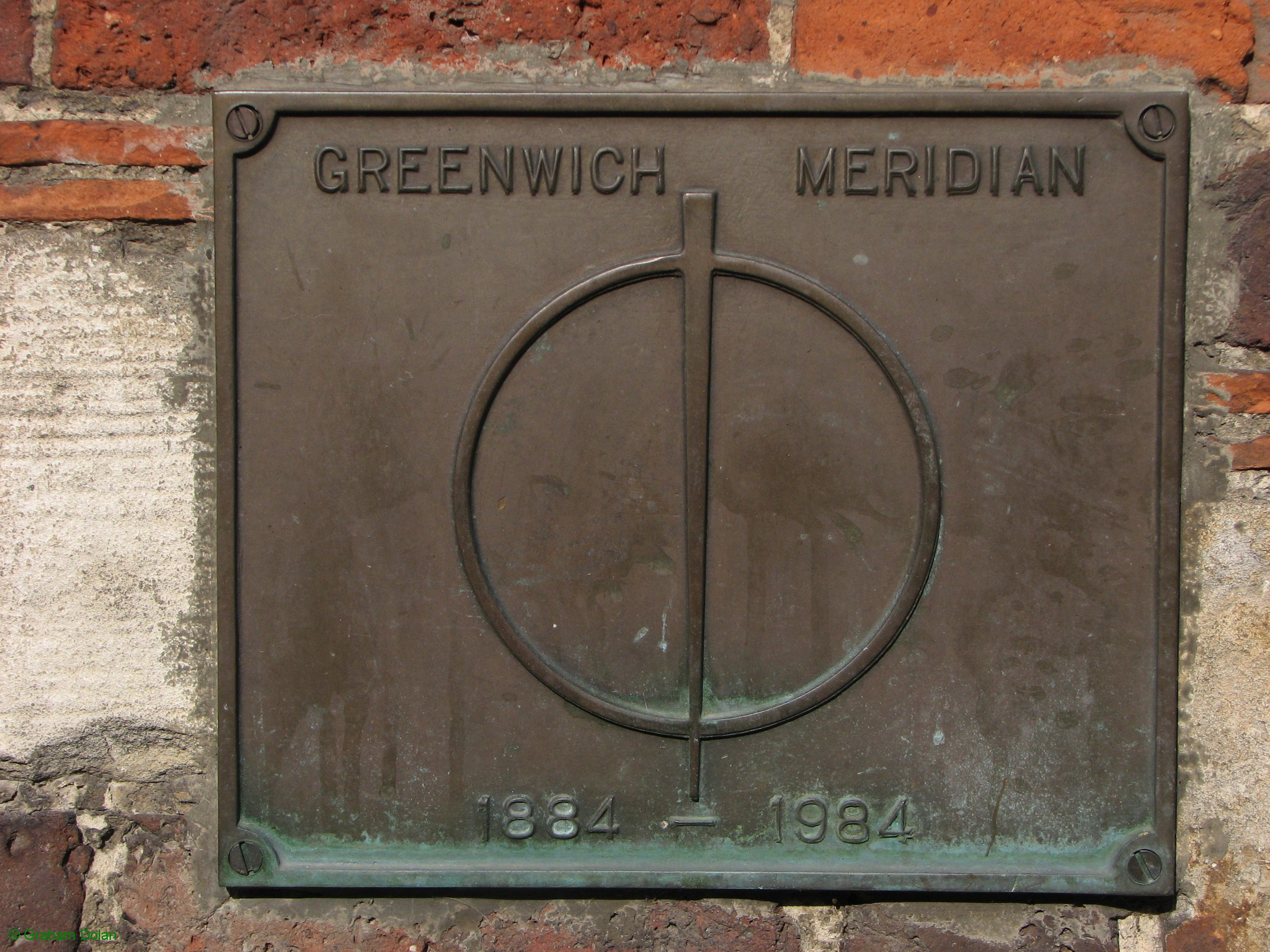 Greenwich Meridian Marker; England; Surrey; Oxted