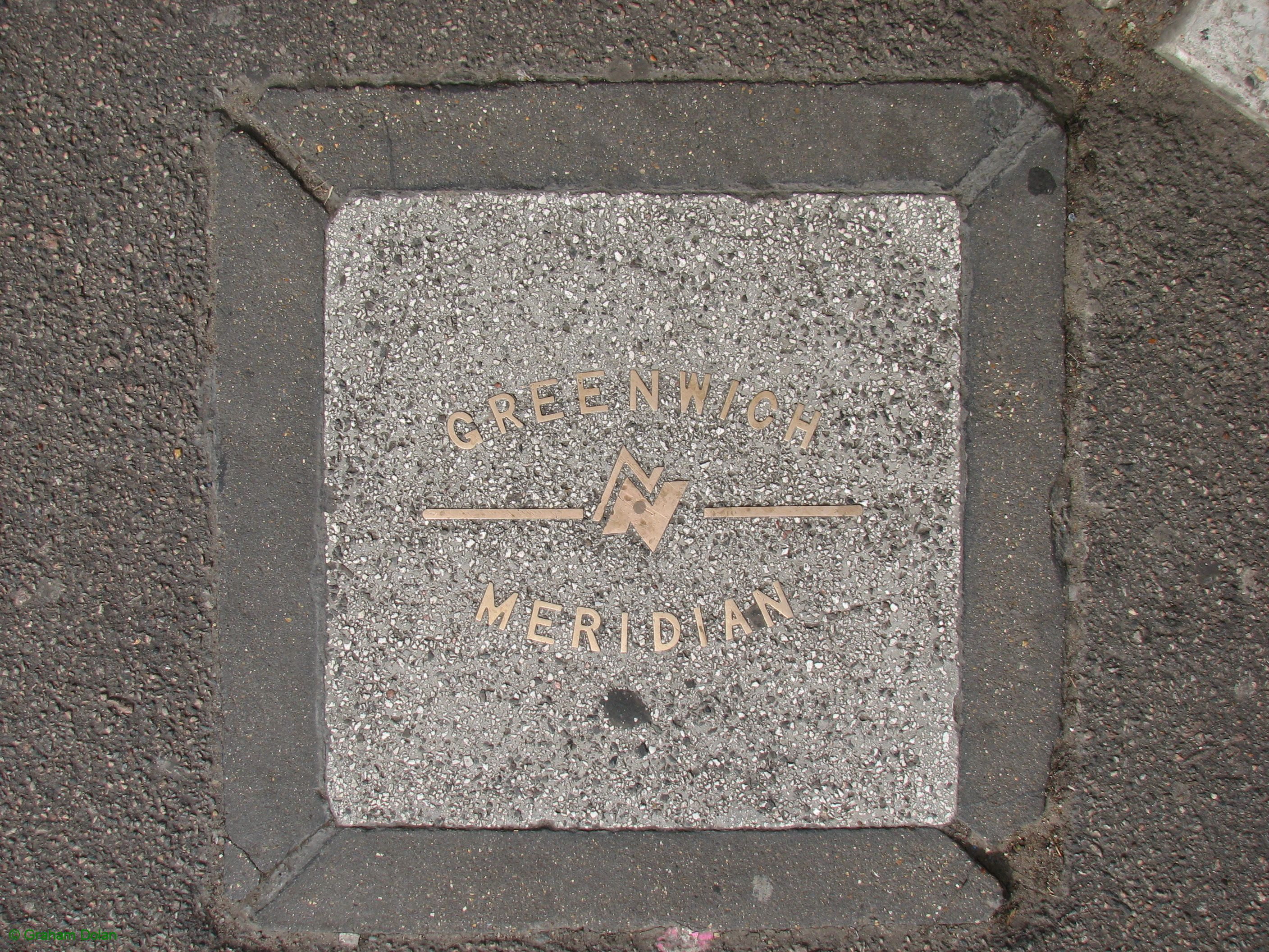 Greenwich Meridian Marker; England; LB Newham; Stratford (E15)