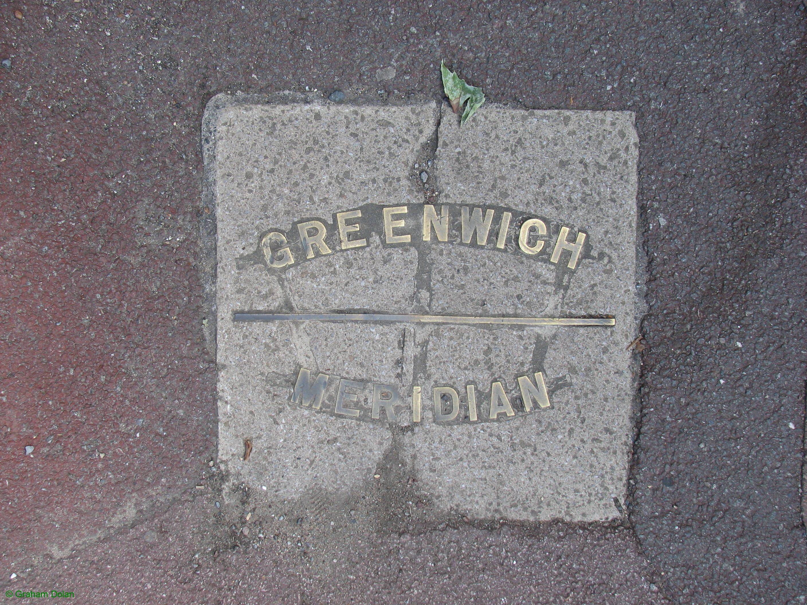 Greenwich Meridian Marker; England; LB Waltham Forest; Chingford (E4)