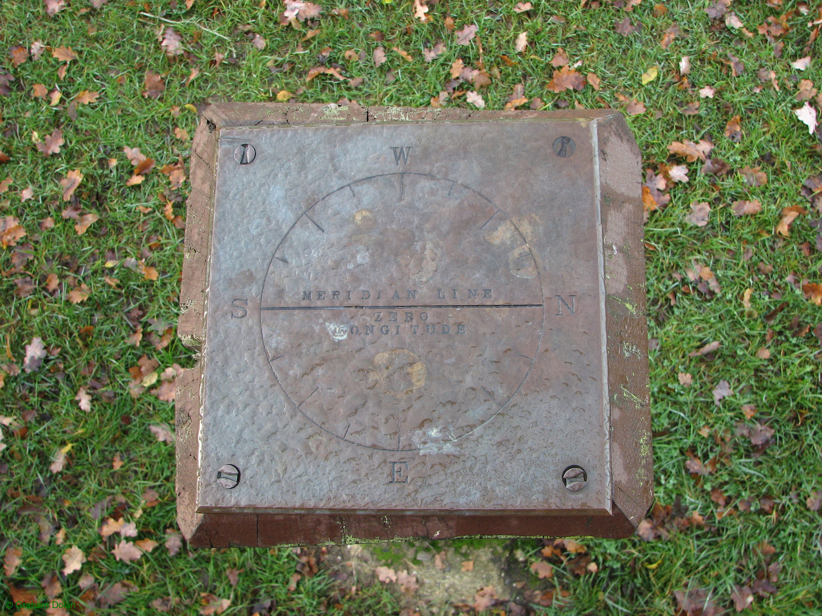 Greenwich Meridian Marker; England; Essex; Gilwell Park