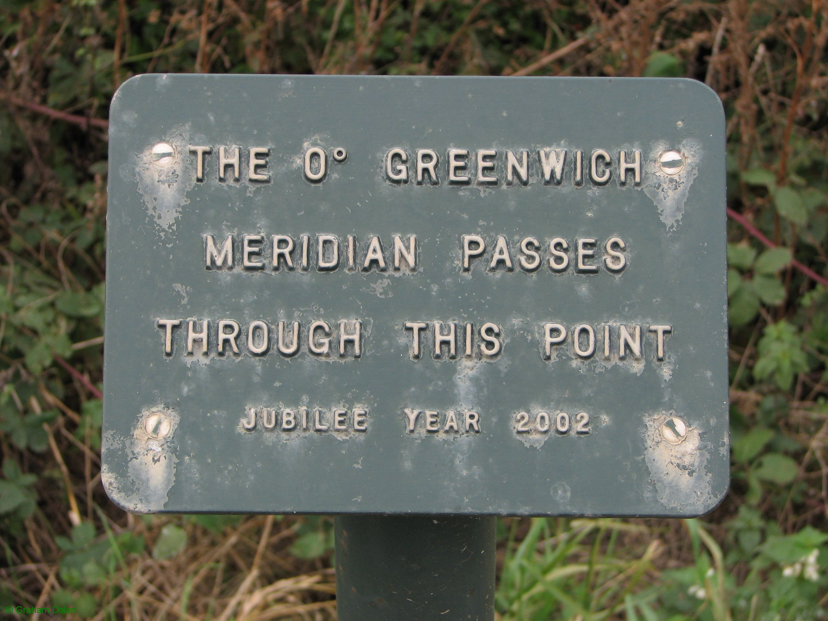 Greenwich Meridian Marker; England; Lincolnshire; Sibsey