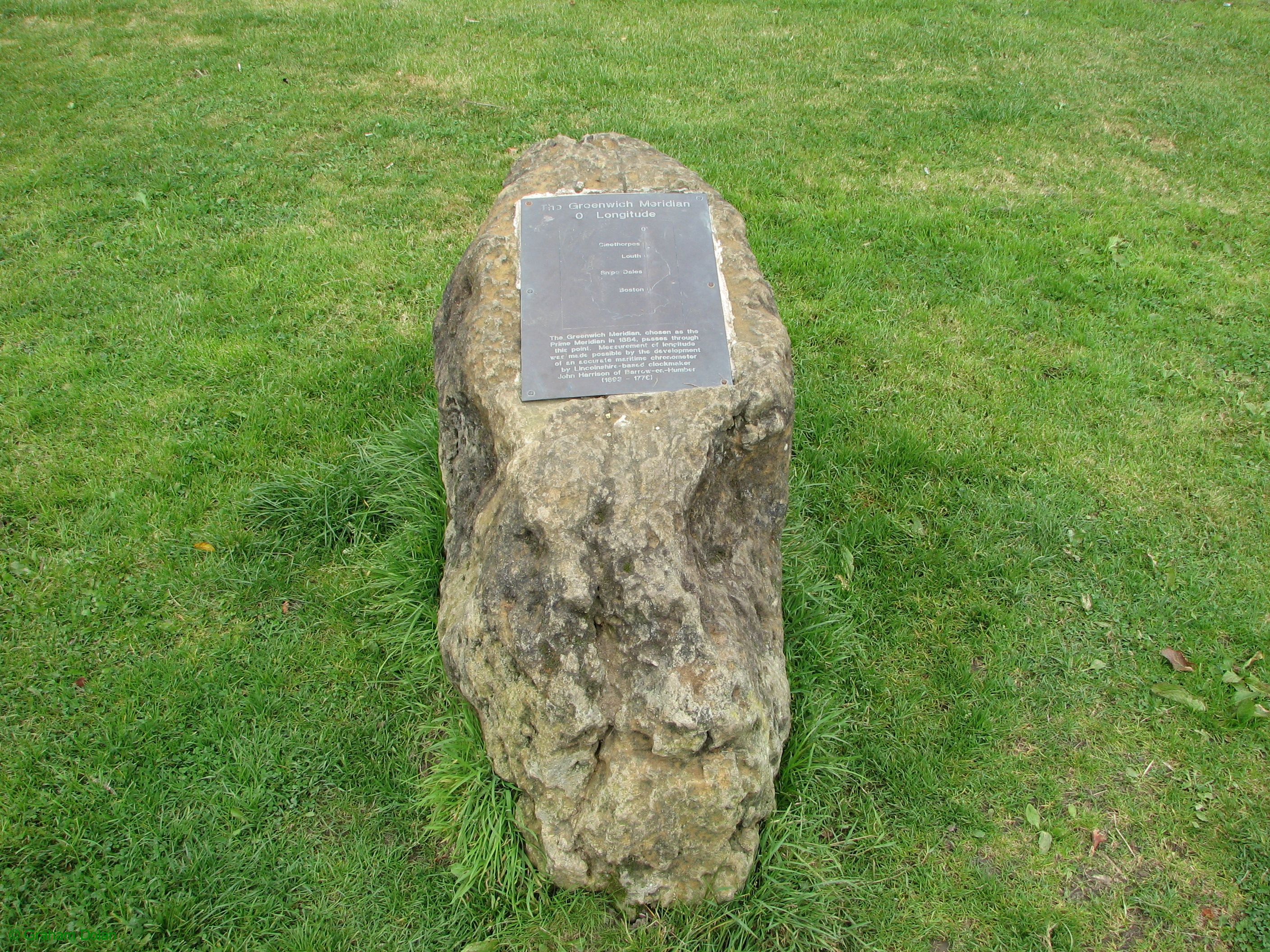 Greenwich Meridian Marker; England; Lincolnshire; Winceby
